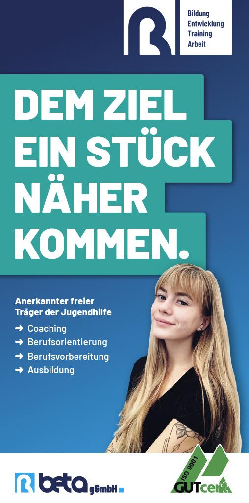 Jugendberufshilfe - Flyer